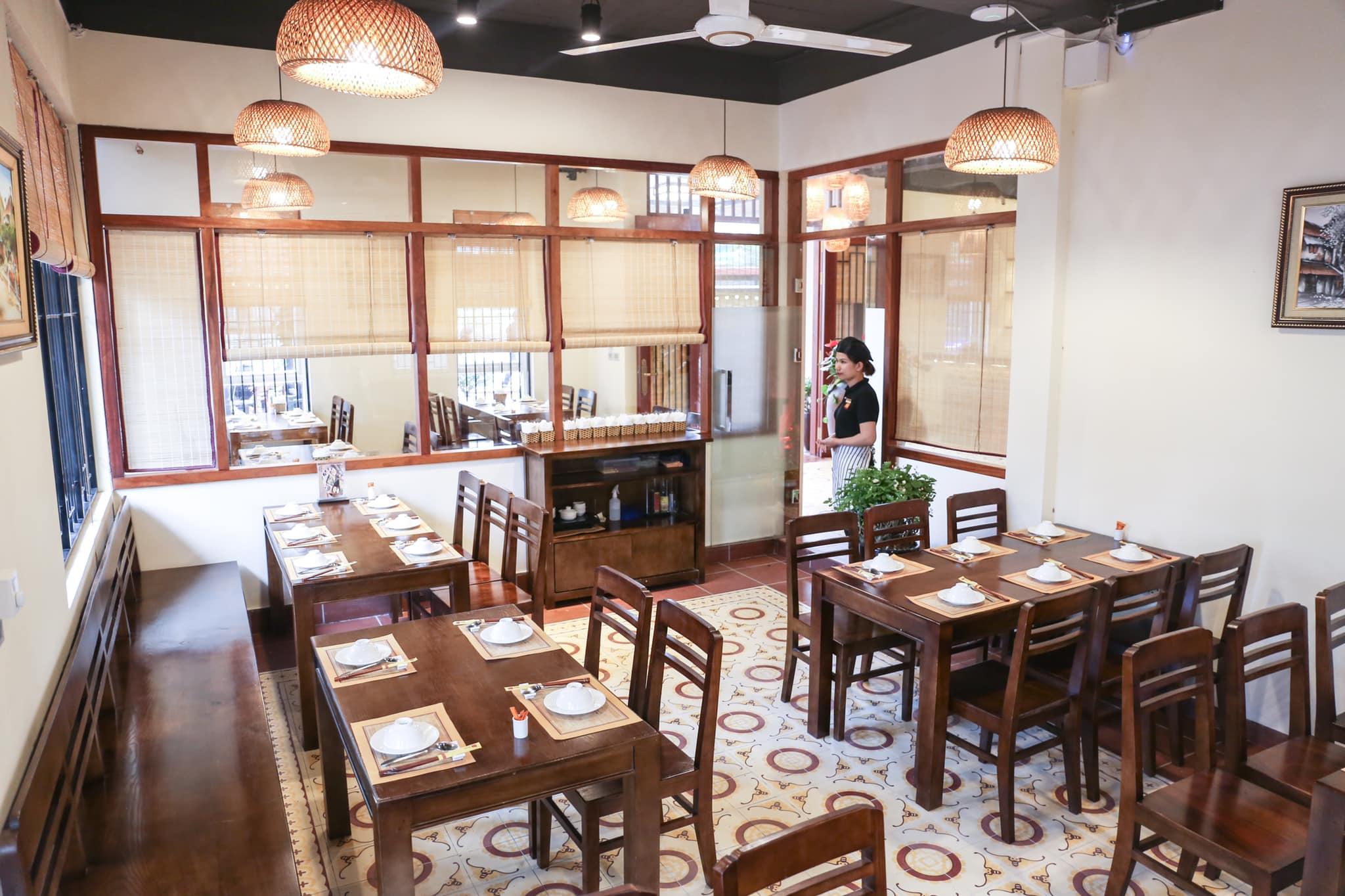 Không gian Nhà hàng Mỹ Hạnh