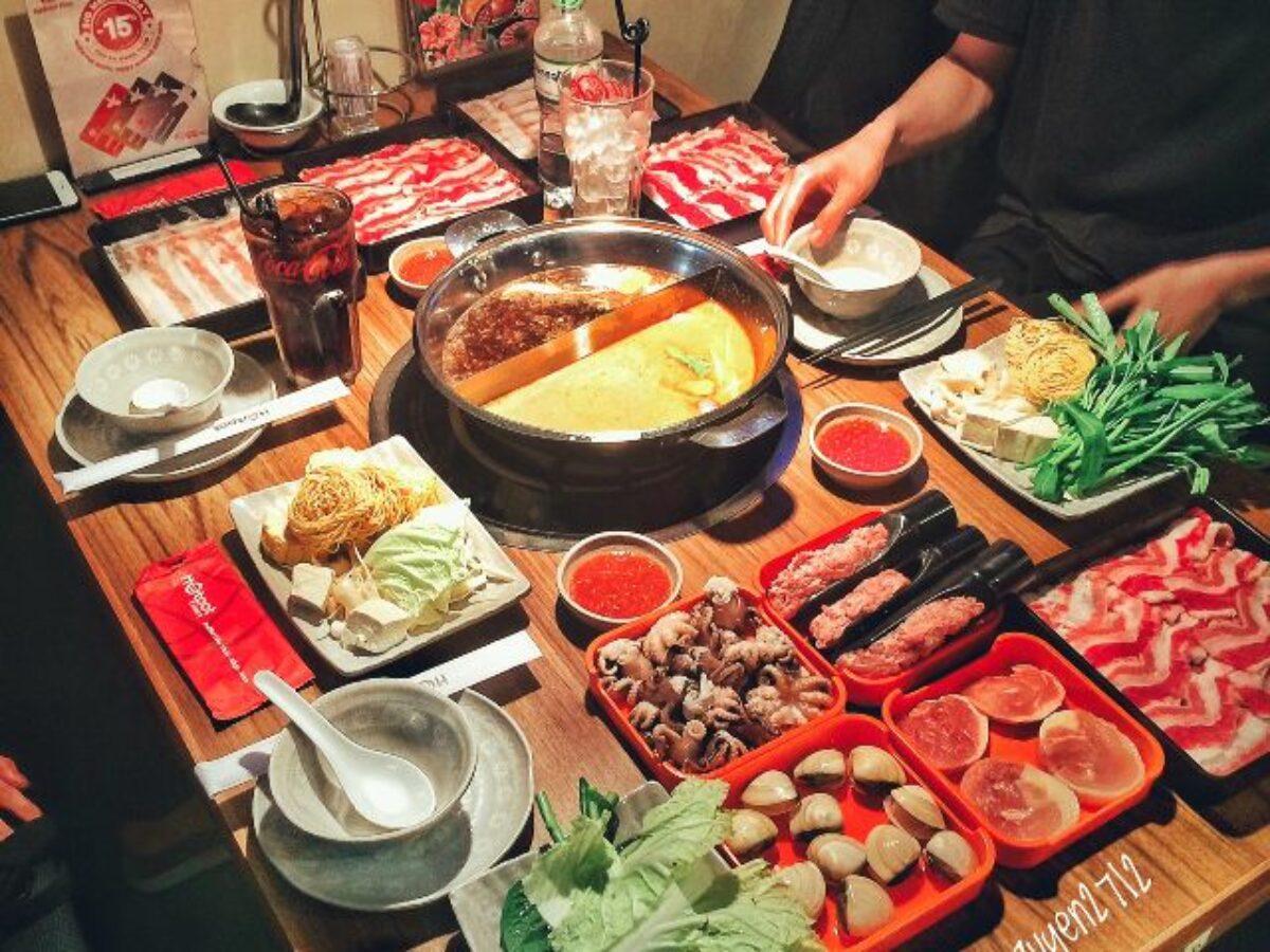 buffet lẩu thái Sài Gòn