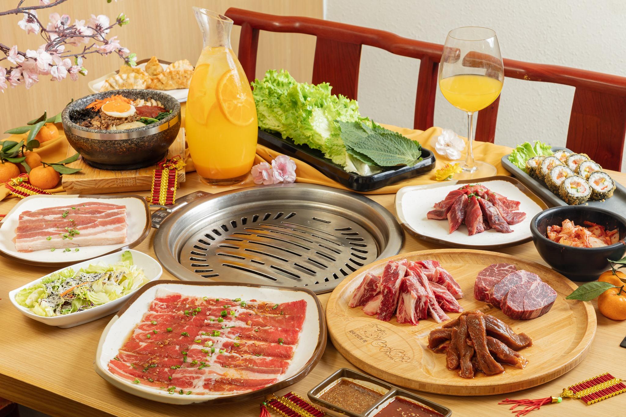 Bữa tiệc thịt nướng tại GoGi House