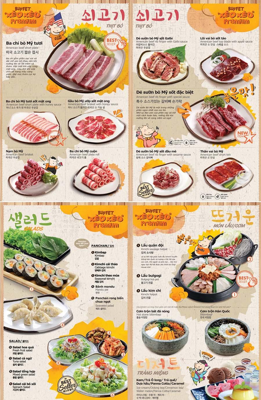 menu gogi giang van minh