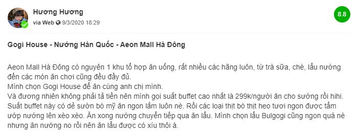 review Gogi Aeon Ha Dong